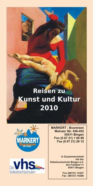 Kunst und Kultur 2010