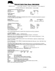 Material Safety Data Sheet: RMA3000R - the GSG Support Page!!!