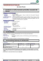 5712 Zinc Oxide Pharma (Danish (DK)) Umicore - A MSDS EU ...