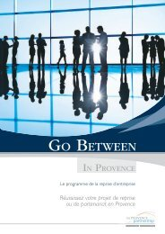 GO BETWEEN - Provence Promotion