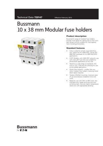 Data Sheet - Cooper Bussmann