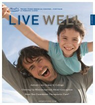 Live Well Summer 2011 - Henry Ford Health System