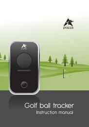 Golf ball tracker - Prazza