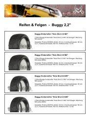 Reifen & Felgen - Buggy 2,2