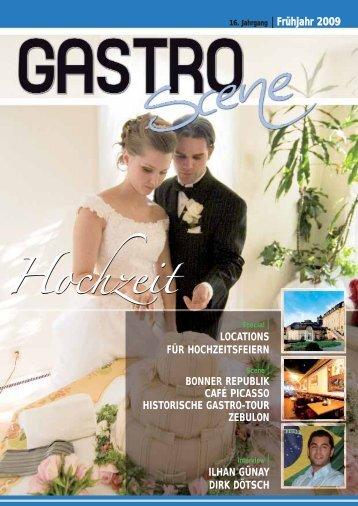 Hochzeit - Gastro Scene