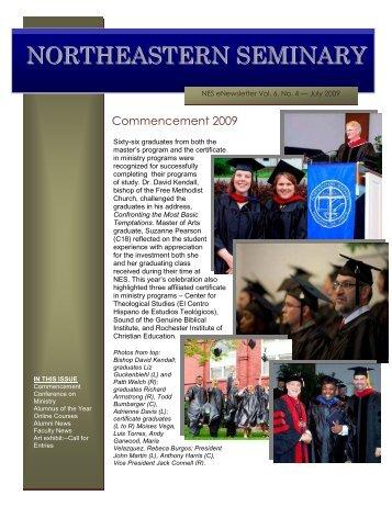 June - Northeastern Seminary