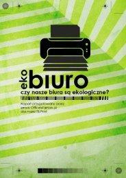 EkoBiuro Raport - Forum Odpowiedzialnego Biznesu