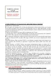 scarica le brevia num° 22 del 2012 - PERELLIERCOLINI.it