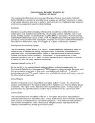 Elementary and Secondary Education Act - Center for Schools and ...