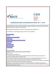 Newsletter - NCOSS