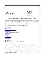 Newsletter - NCOSS