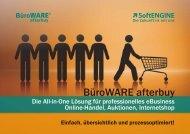 BüroWARE afterbuy - SoftENGINE GmbH
