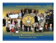 Inside: Annual Report and Listing of Giving Club ... - IRSC Foundation