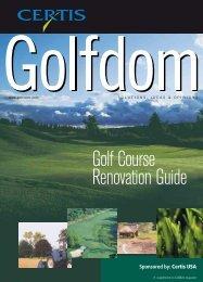 Golf Course Renovation Guide - Certis USA