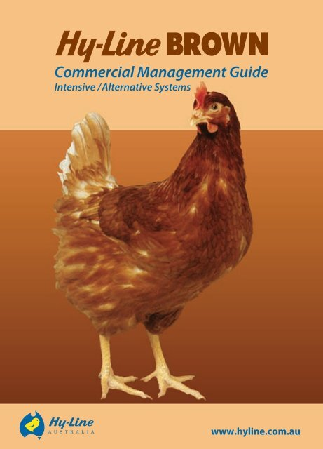 Hy-Line Brown Commercial management guide - Poultry Hub