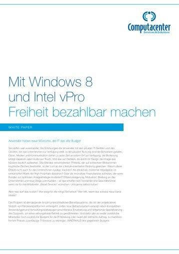 White Paper zu Windows 8 - Computacenter