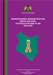 KENYA NACC for web - POLICY Project