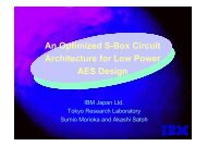 An Optimized S-Box Circuit Architecture for Low Power AES Design