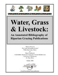 GRAZE BIBLIO LAYOUT - Chesapeake Research Consortium