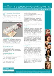 the combined oral contraceptive pill - Family Planning NSW