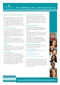 the combined oral contraceptive pill - Family Planning NSW - Page 3