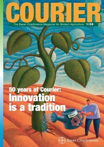 Innovation is a tradition - Bayer CropScience