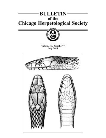 July - Chicago Herpetological Society