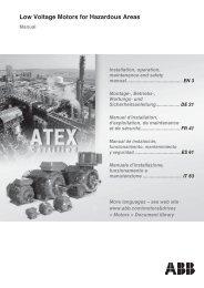 motori per aree pericolose - Tecnica Industriale S.r.l.