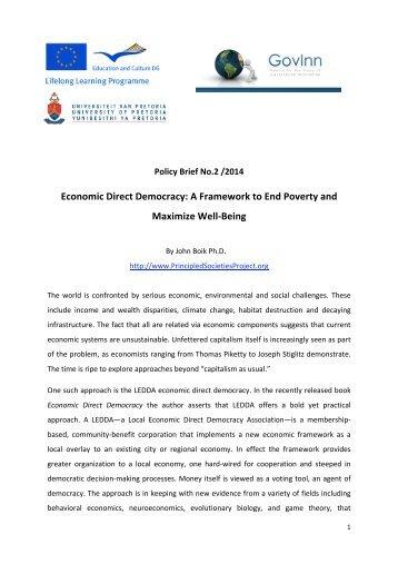 GovInn Policy Brief 2 2014
