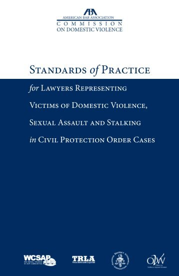 Standards of Practice - American Bar Association