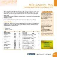 Affinity Immobilized Metal Affinity Chromatography - IMAC - Interchim