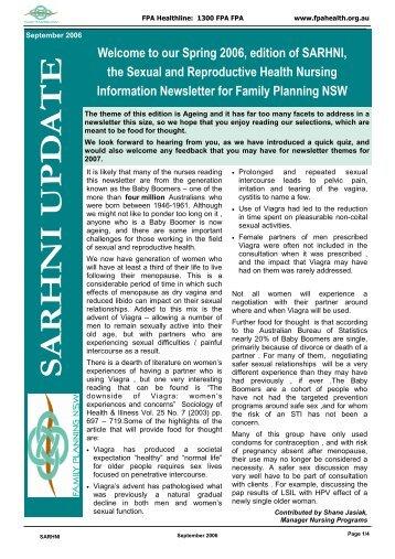 SARHNI September 2006.pub - Family Planning NSW