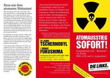 ATOMAUSSTIEG - Die Linke NRW