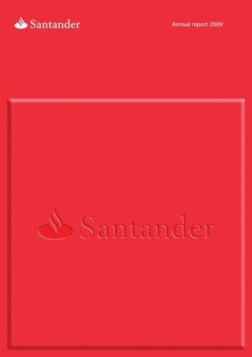 Annual report 2009 - Santander