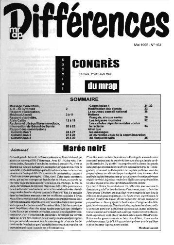 NGRÈS - Archives du MRAP