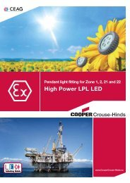 LPL LED - Cooper Crouse-Hinds