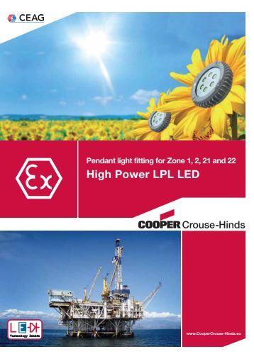 LPL LED - Cooper Crouse-Hinds