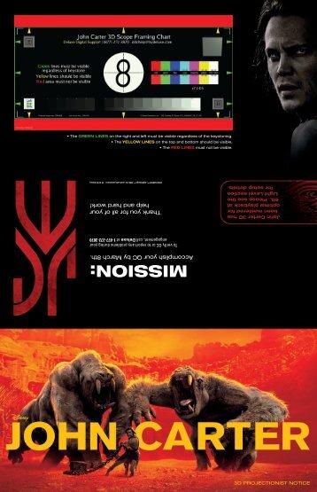 jc proj notice_final 100h (pdf) - Disney Digital Cinema Portal ...