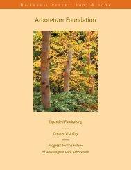 Arb annual - The Arboretum Foundation