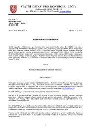 Rozhodnutí o námitkách-GELEOS.pdf - E-ZAK SUKL - Státní ústav ...