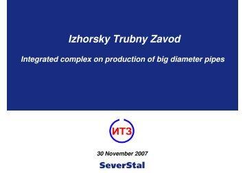 Izhorsky Trubny Zavod - Severstal
