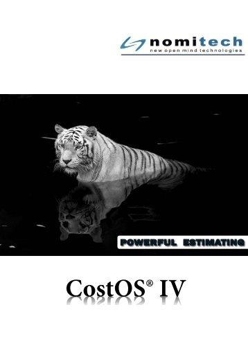 CostOS® IV CostOS® IV - Eos Group, Inc