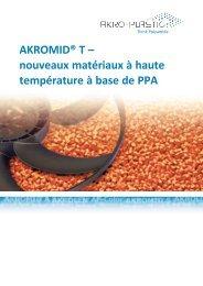 AKROMID® T - AKRO-PLASTIC GmbH