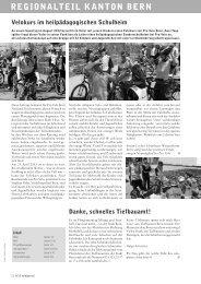 Velojournal 4/2013 - Pro Velo Kanton Bern