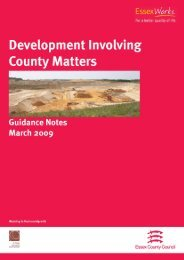 Development Involving County Matters - Planning Advisory Service