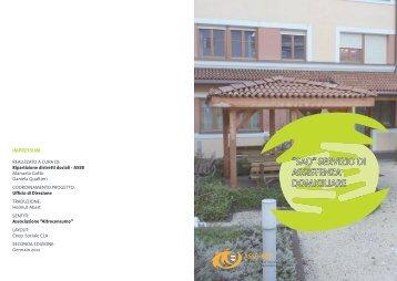 Carta dei Servizi - ''SAD'' Servizio di Assistenza domiciliare