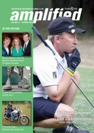 Victorian Amputee Golf Championship - Limbs 4 Life