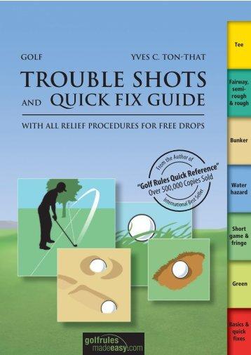 Trouble Shots