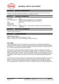 material safety data sheet - Henkel Content Management System - Page 4