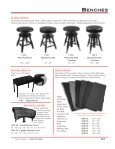 benches view catalog - Pianotek Supply Company - Page 5